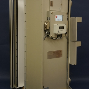 Large catheter curing chamber